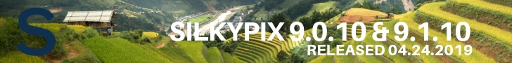 SILKYPIX 9.0.10 / SILKYPIX 9.1.10 adds Canon EOS RP & Sony A6400 cameras, fixes and more