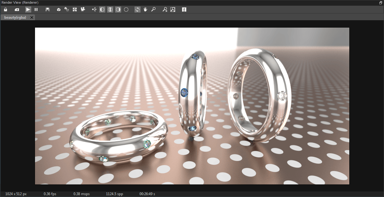 FluidRay RT Render View