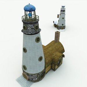 Halfling Village Lighthouse