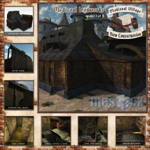 Medieval Village New Construction Volume 1 Complete Edition