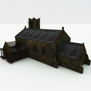 Unfinished Medieval Church