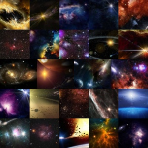 Space Backgrounds Volume 1