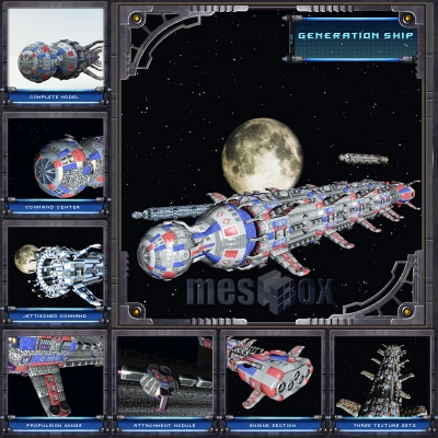 Generation Ship Volume 1 Complete Edition