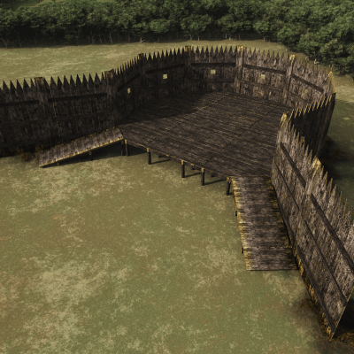 Jamestown Walls and Gate